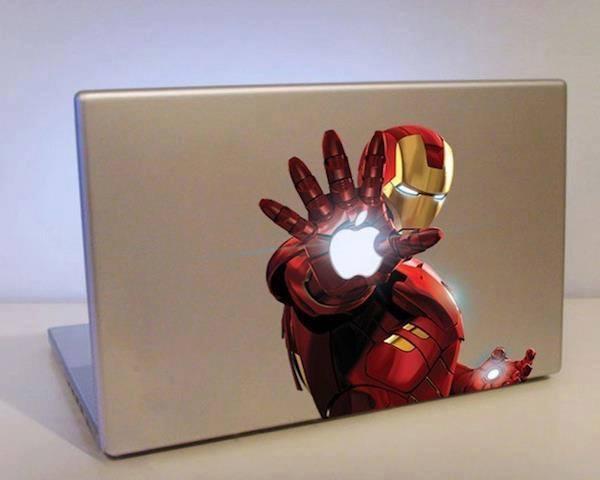 #12 - Adesivo perfeito do Iron Man :)