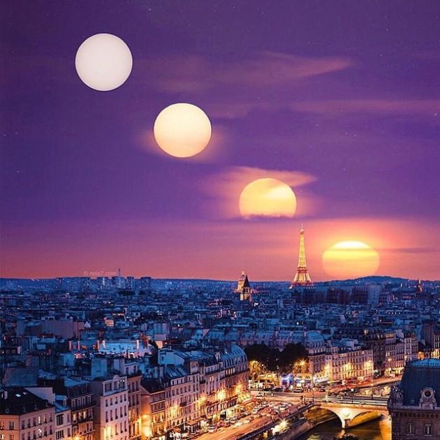 #4 - Vários momentos de Paris . FOto por @nois7