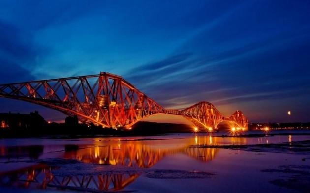 The Forth Rail Bridge, Edinburgh