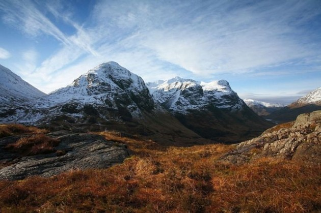 The Three Sisters of Glen Coe, Highlands