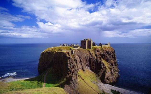 Dunnottar Castle, North East Scotland