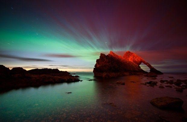 Bow Fiddle Rock, Moray