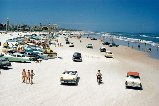 #18 - Praia de Daytona em 1857, Flórida.