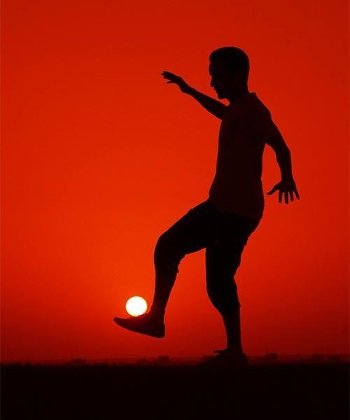 #13 0 Brincando com o sol