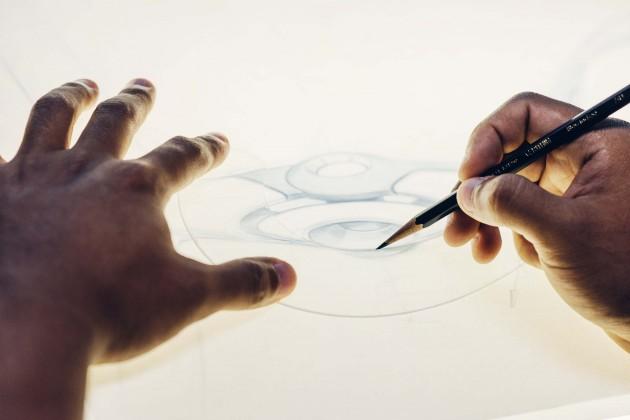 Processo de criação do Sketch do óculos