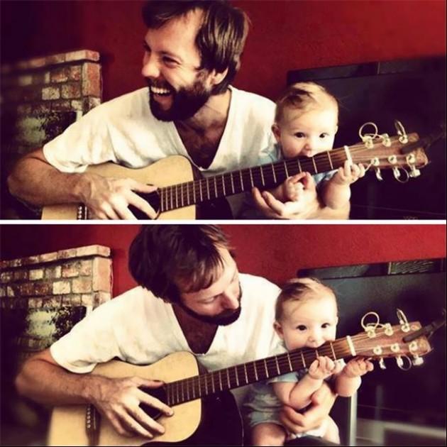 Tal Pai, Tal Filho! - 20 Imagens engraçadas de pais e filhos na mesma pose10