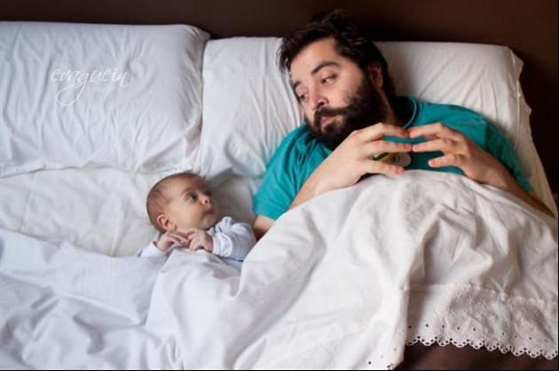 Tal Pai, Tal Filho! - 20 Imagens engraçadas de pais e filhos na mesma pose2