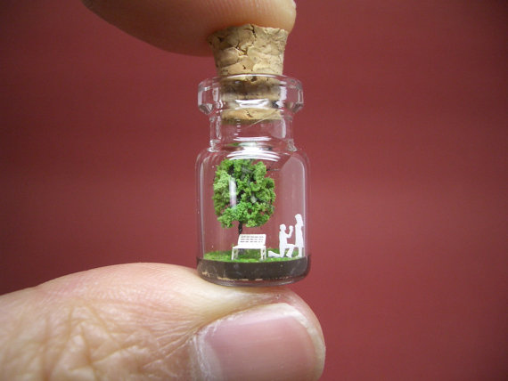 Que tal usar essa garrafa pequenininha para fazer uma grande pergunta!