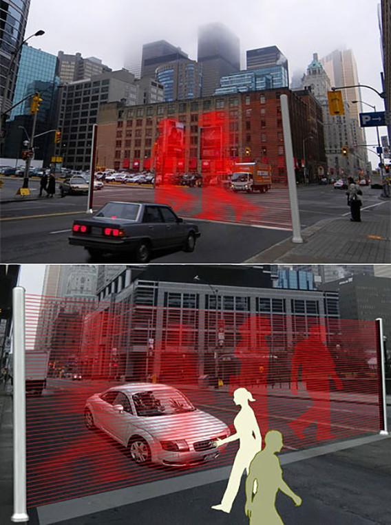 Parede Virtual em Tokyo , Japão!