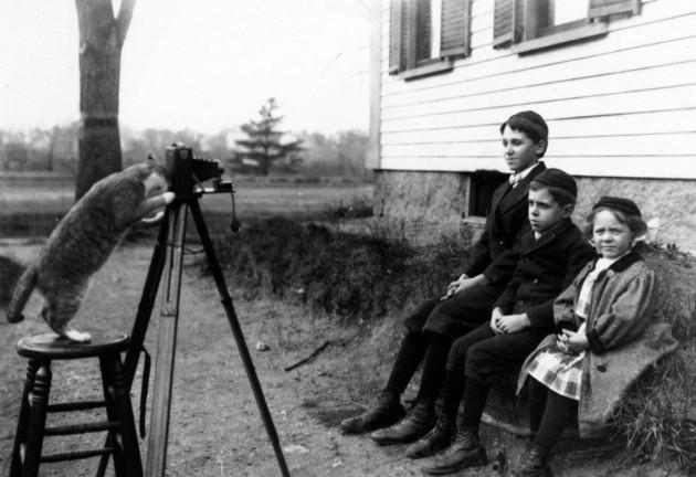 41 Imagens mostram como era difícil a vida de fotógrafo antigamente-41