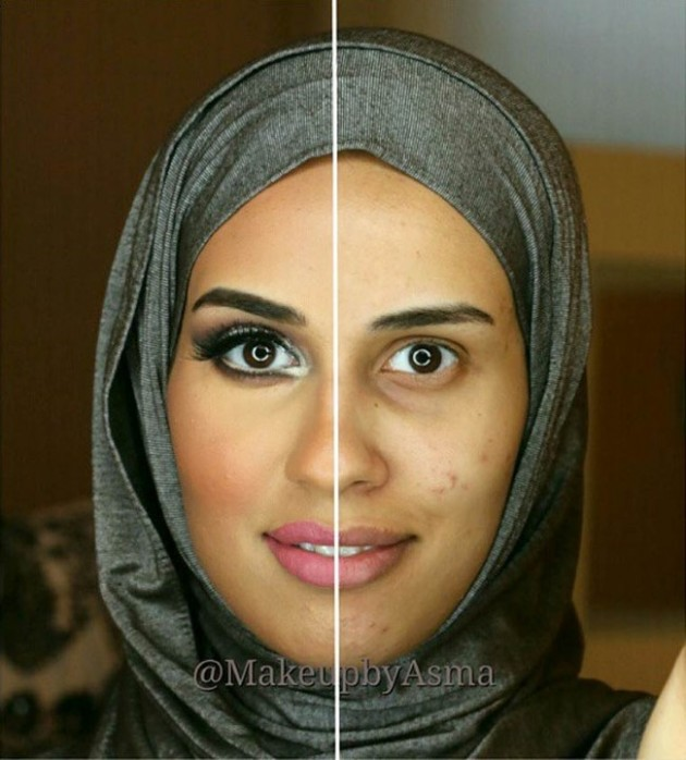 Garotas são maquiadas pela metade para conscientizar algo muito importante para as mulheres 7