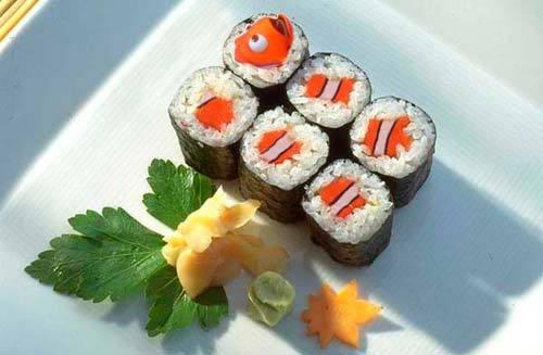 Sushi-Procurando-Nemo