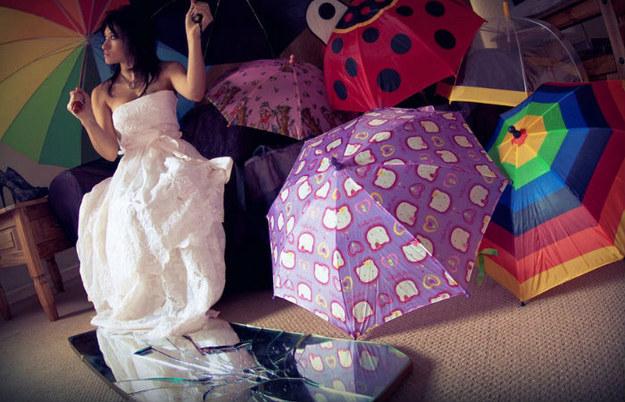 #3 - Deixar o guarda-chuva aberto dentro de casa atrái a morte