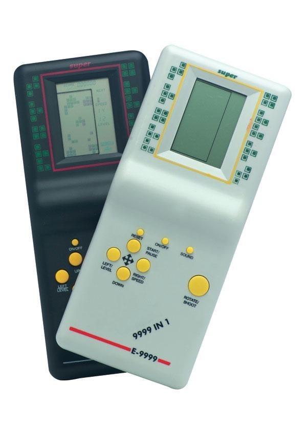 E naquela época também tinham milhares de jogos em um único dispositivo ;)