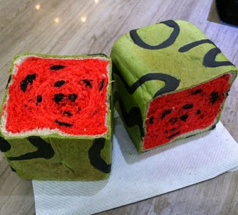 square-watermelon-bread-jimmys-bakery-taiwan-1