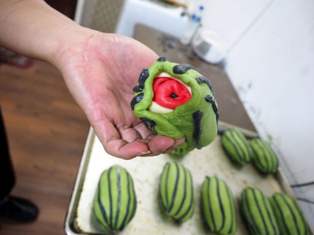 square-watermelon-bread-jimmys-bakery-taiwan-5