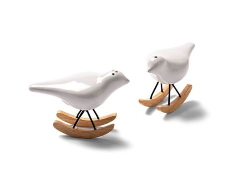 Porta Palito de dentes em formato de pássaro.