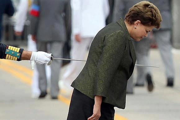 #4 - Clique no momento exato da Presidente Dilma. Foto vencedora do Prêmio Internacional de Jornalismo Rei da Espanha. Por Wilton Júnior.