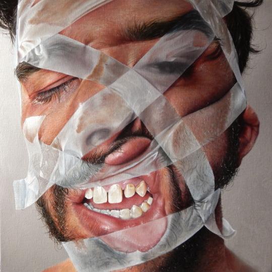 Artista cria pinturas hiper-realistas que assustam e se passam facilmente por fotos 7