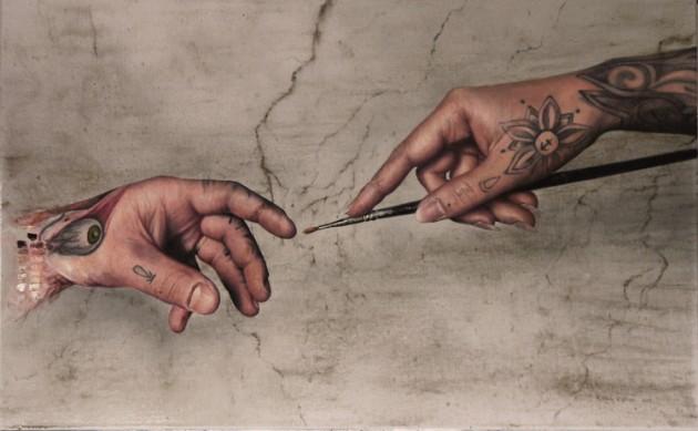 Artista cria pinturas hiper-realistas que assustam e se passam facilmente por fotos 9