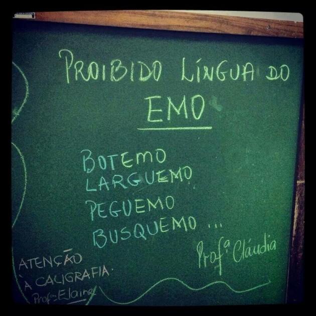 #9 - Proibido Lingua do Emo.