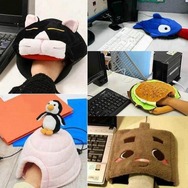 #18 - Usando o mouse no frio.