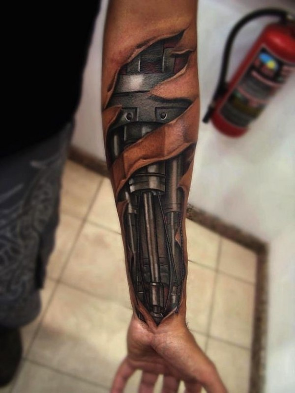 #2 - Tatuagem 3D