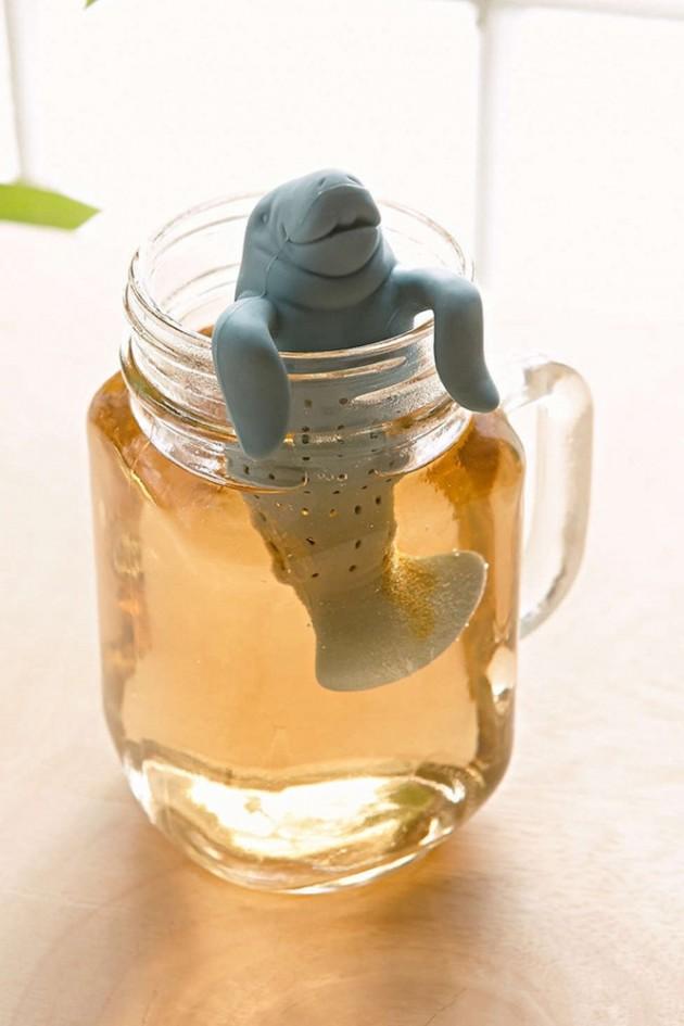 Suporte de Sachê de chá em formato muito fofo