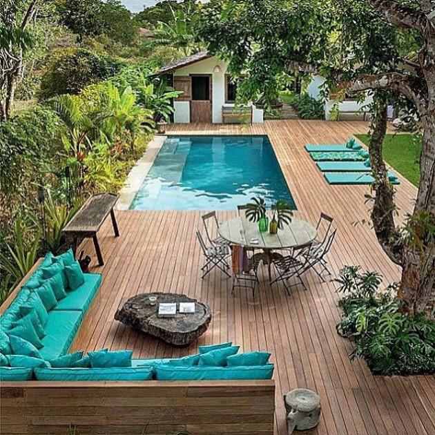Jardim perfeito pra você trabalhar em casa :)