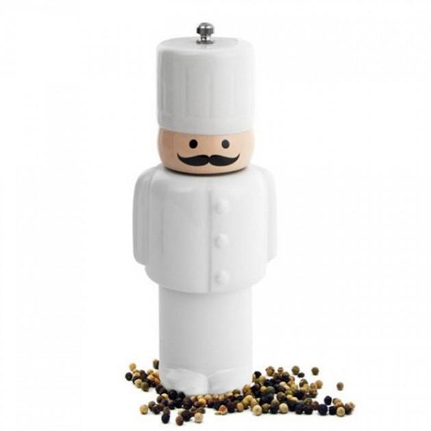 Moedor de pimenta do chefe.