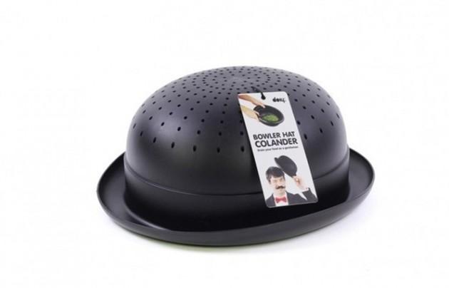 Escorredor em formato de chapéu