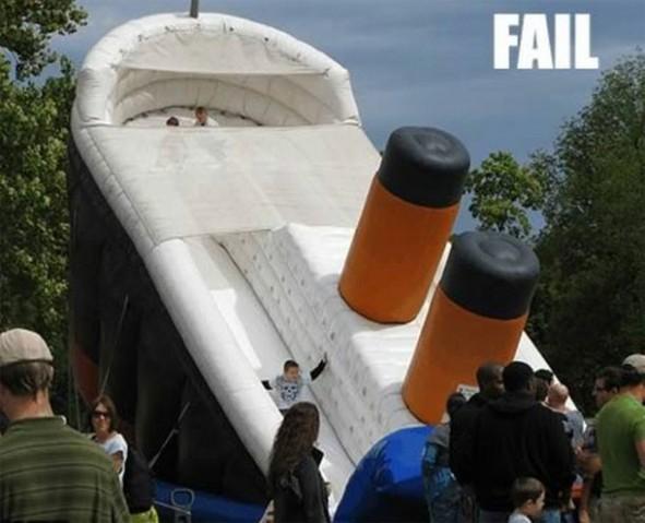 Escorrega do Titanic