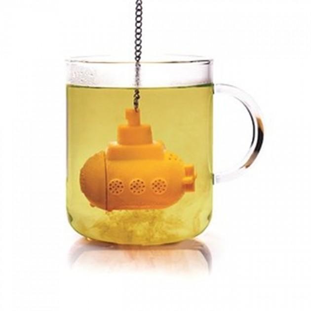 Suporte de Sachê de chá em formato de submarino