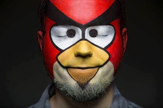 #16 - Pintura Angry Birds.