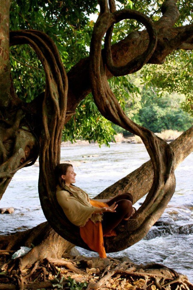 #19 - Nos braços da mãe natureza.