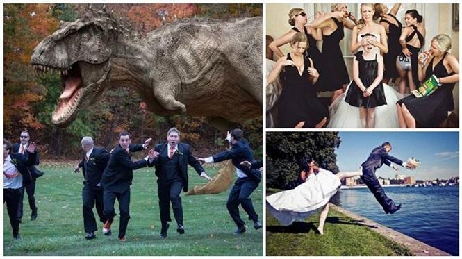 destaque fotos de casamento criativas