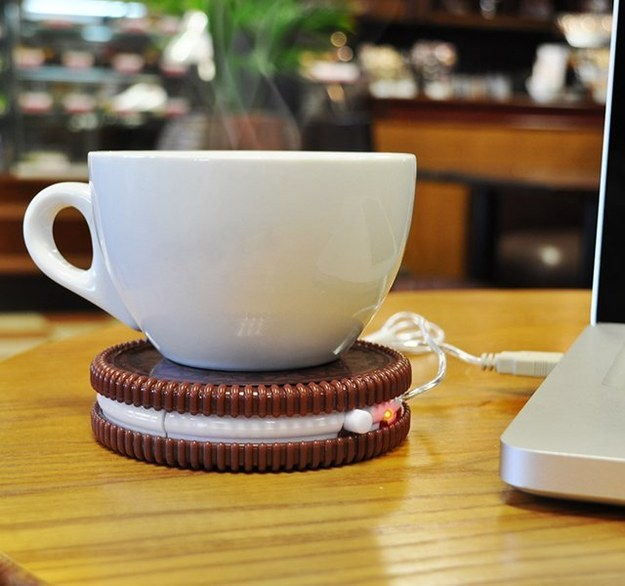 Aquecedor de café USB