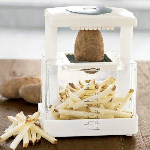 Descascador de batatas.