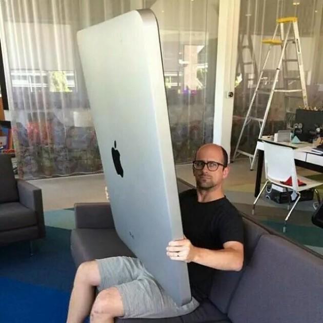Nova invenção da Apple.