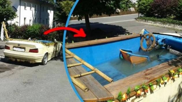 16 Imagens provam o quanto somos criativos na hora de se refrescar na piscina 16