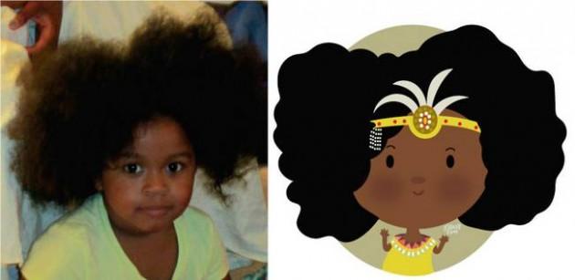 Ilustrador transforma foto de crianças em caricaturas fofas e incríveis 1