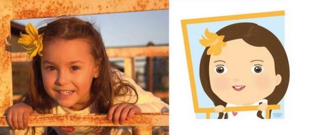 Ilustrador transforma foto de crianças em caricaturas fofas e incríveis 11