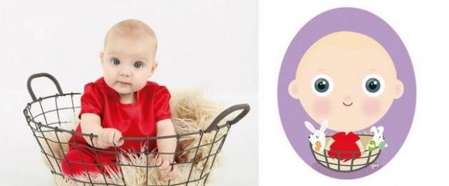 Ilustrador transforma foto de crianças em caricaturas fofas e incríveis 2