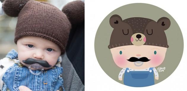 Ilustrador transforma foto de crianças em caricaturas fofas e incríveis 22