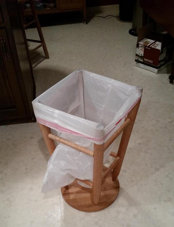 Criando uma cesta de lixo.