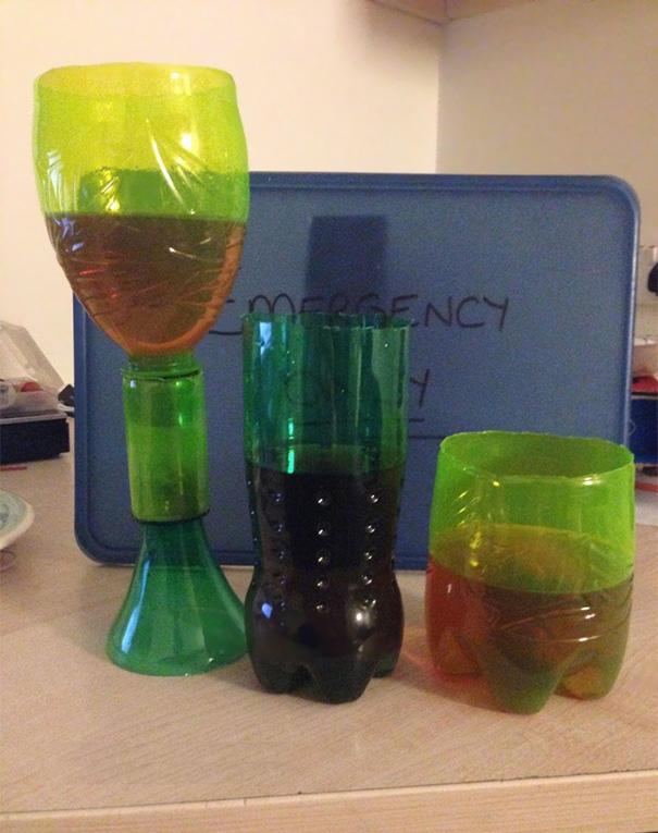 Pra criar copos