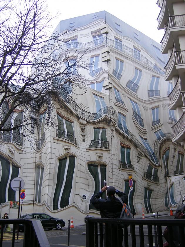 Hausmannian Edifício No Georges V Ave. Em Paris