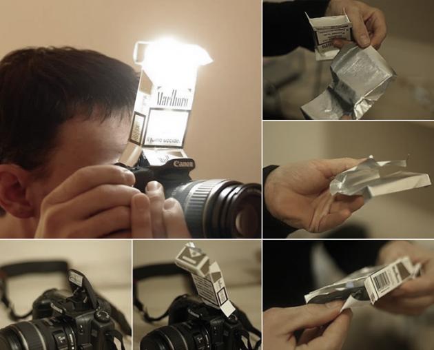 #5 - Criando um flash para suas fotos.