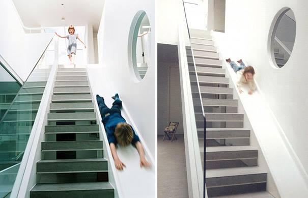 #7 - Escada que toda criança adoraria ter em casa.