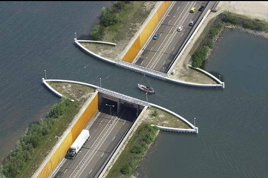 #6 - Aqueduto de Veluwemeer, Holanda